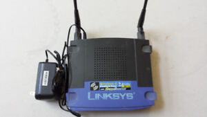 Linksys WRT54GS V.2 Wireless-G Router 2.4GHz with speed booster
