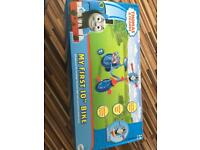 Thomas and friends bike bicycle 10 inch with stabilisers