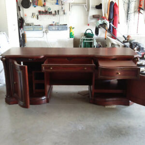 Solid cherry wood CREDENZA