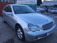 Mercedes-Benz C Class 2.0 C200 Kompressor Elegance 4dr£1,485 p/x welcome FREE WARRANTY. NEW MOT