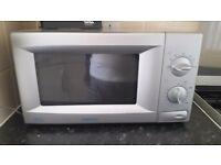 Silver Samsung microwave