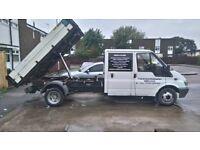 ford transit tipper crew cab £1600