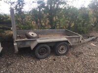 Digger trailer plant trailer