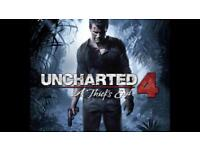 Brand new unchartered PS4 Game