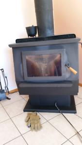 Blaze King Ultra wood stove