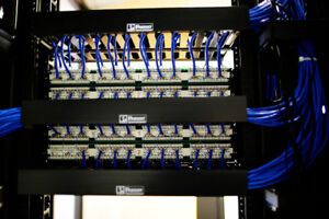 Structured cabling, wireless and CCTV cameras