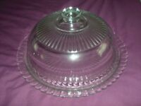 cake plate and cover