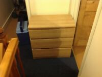 Chest of drawers 3 drawer