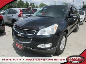 2011 Chevrolet Traverse FAMILY MOVING LT MODEL 7 PASSENGER 3.6L