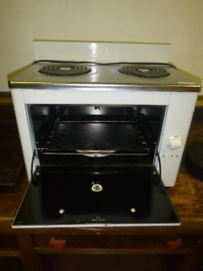 Counter Top Electric Oven and Stove top