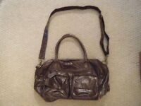 REDUCED PRICE - KOTO Brown Leatherette Baby Changing Bag