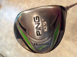 Assorted Ping drivers-excellent condition