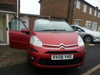 Citroën C4 Picasso Red 1.8 petrol engine manual . With bluetooth