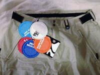 Bonfire ripstop 20,000mm durable ski/snowboard pants New tagged !