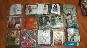 Pakistani Lawn Stiched Suits available