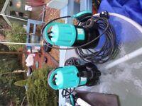 pond pumps new