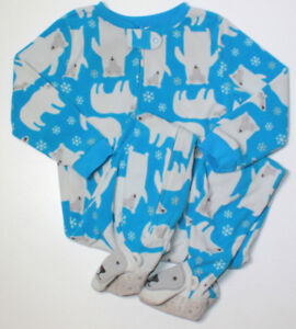 Carters 4t fleece sleepers