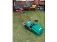 Qualcast electric cylinder lawnmower