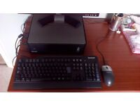 """DELL OPTIPLEX 760 SMALL FORM FACTOR DESK TOP COMPUTER 20"""" Monitor, Keyboard & Mouse"""