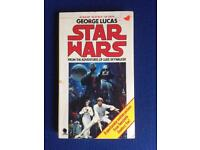 Vintage Star Wars A New Hope pb book novel rare