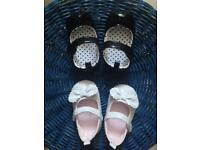 Baby girl shoes 6-9m