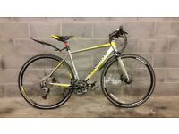 FULLY SERVICED GREAT CONDITION HYBRID BOARDMAN COMP 2016 WITH HYDRAULIC BRAKES BICYCLE