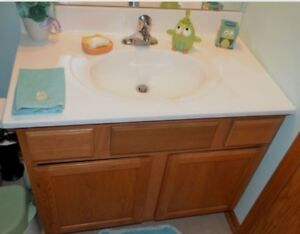 Wanted: older 48 inch builder grade vanity
