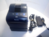 Intermec PC43D Label Printer with battery pack for portability