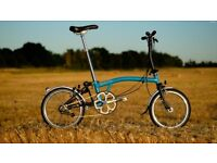 Wanted: Brompton fold up bike