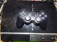 ps3 80gb console cheap look read add working