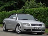 2003 AUDI A4 SE CABRIOLET 3.0 AUTO***FULL SERVICE HISTORY + 2 KEYS***
