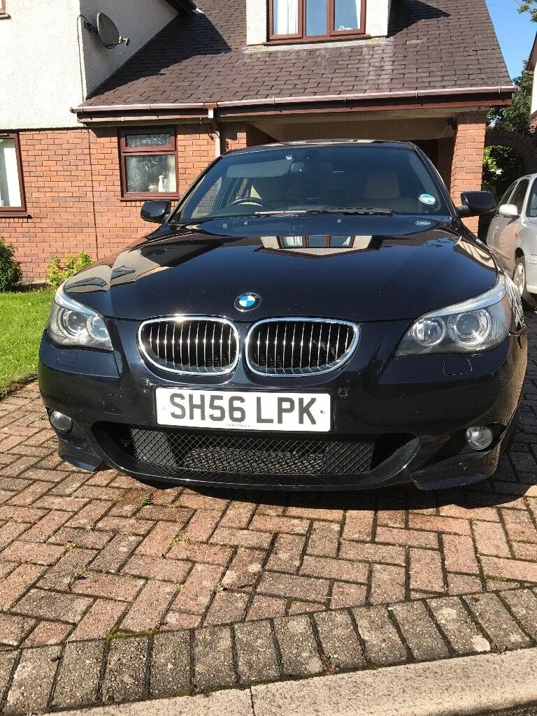 2006 BMW 530D Auto Saloon FSH Beige Leather 2 Owners Front Seat Heating MOT Till 5 11 2017 Wirral