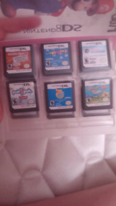 DS/DSI games ($60 All together, 10 each)