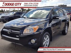 2011 Toyota RAV4 Limited | 4x4 | PST PAID