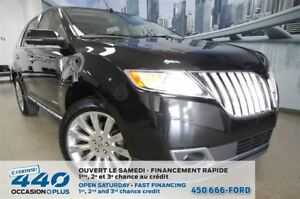 2014 Lincoln MKX | AWD, CUIR, TOIT PANORAMIQUE, NAVIGATION