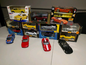 Diecast model cars, 1/24 scale