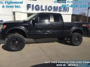 REDUCED 2012 Ford F-150 FX4   - Bluetooth - $230.21 B/W