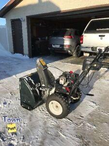 Yardworks snowblower