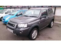 DIESEL 2006 LANDROVER FREELANDER FREESTYLE 2.0 TD ESTATE MET GREY HEATED 1/2 LEATHER CD ALLOYS E/W +
