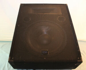 "EM PM-15HA - 12"" 200 W 2-Way Powered Floor Monitor"