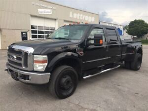2008 Ford F-350 DOUBLE ROUES LARIAT DIESEL 4X4 TOIT $11900