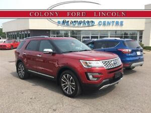 2017 Ford Explorer TOP OF THE LINE PLATINUM WITH DUAL DVD'S!