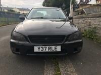 Lexus is200 black 01 / MOT 08/18 High Spec