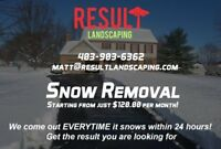 COMMERCIAL SNOW REMOVAL CALGARY AND OKOTOKS