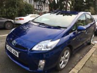 TOYOTA PRIUS T-SPIRIT 2010(60 REG) UK MODEL PCO READY WARRANTED MILEAGE HPI CLEAR