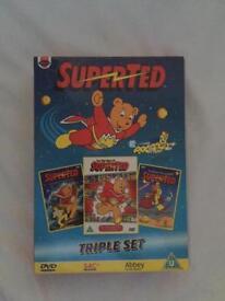 Super Ted DVDs Triple set £4 excellent condition