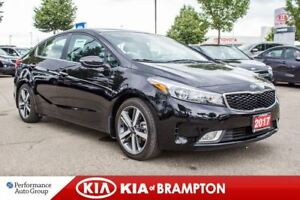 2017 Kia Forte EX Luxury|LEATHER|ROOF|BACKUP CAM|HTD SEATS