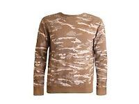 Maharishi Reversible Camo Sweatshirt (new with tags)