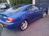 Hyundai Coupe 2.0 SE Auto - good tyres, service history, lifetime s.s. exhaust