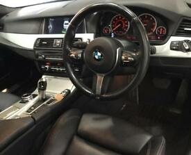 Silver BMW 520d M Sport Diesel Auto 184bhp 2014 FROM £72 PER WEEK!